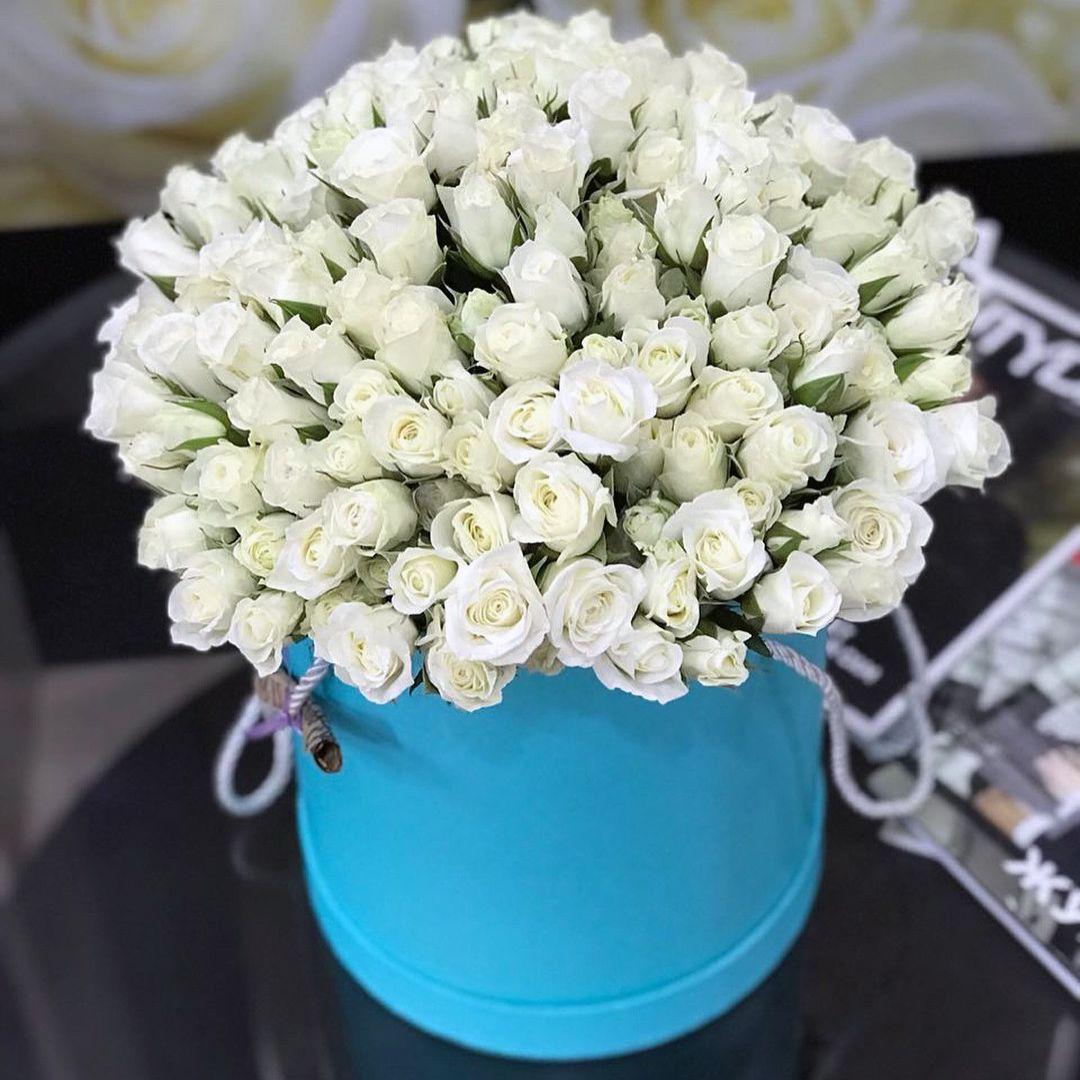 Коробка цветов большая - купить с доставкой по Нижнему Новгороду