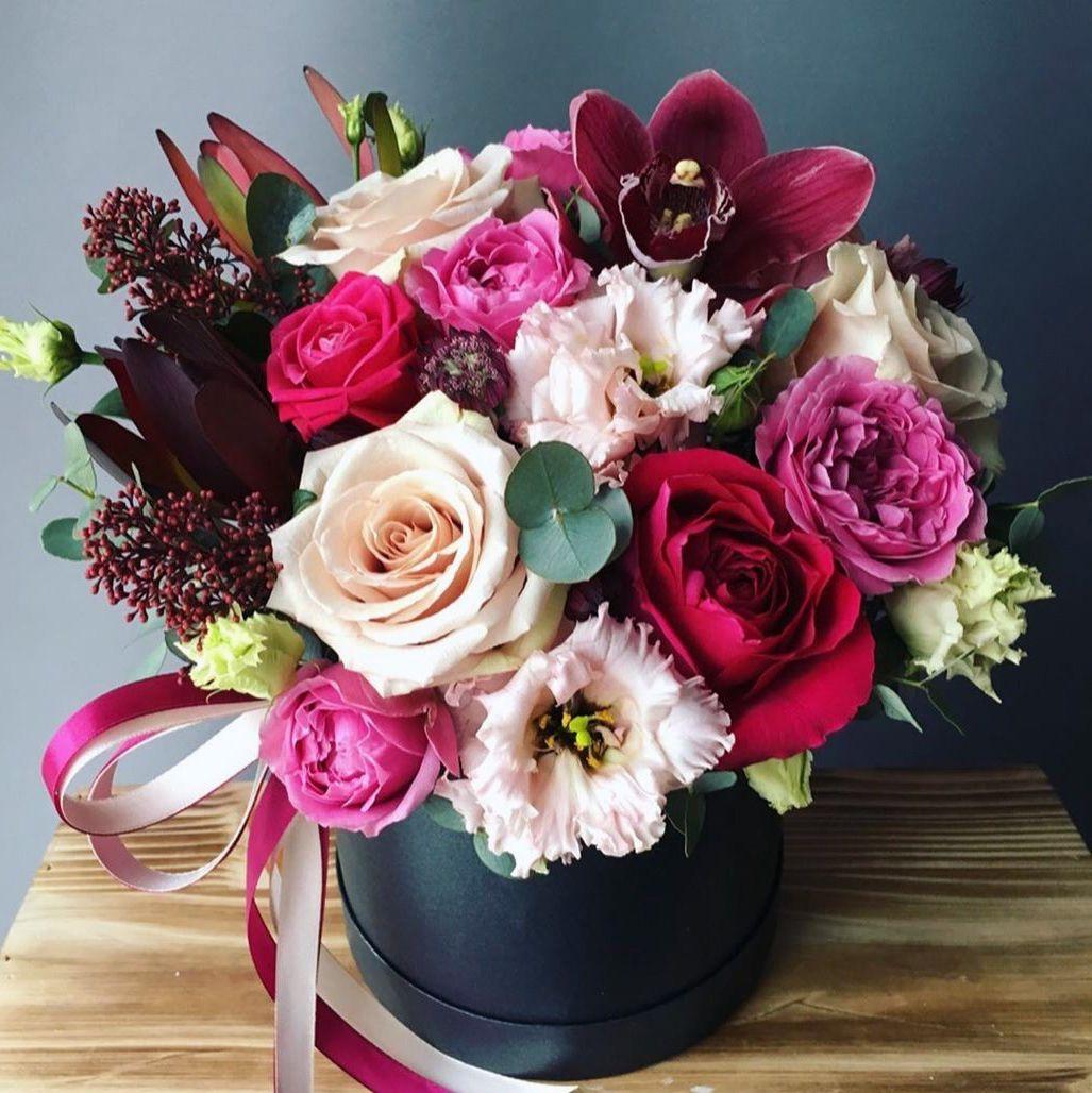 Креативный фон цветы