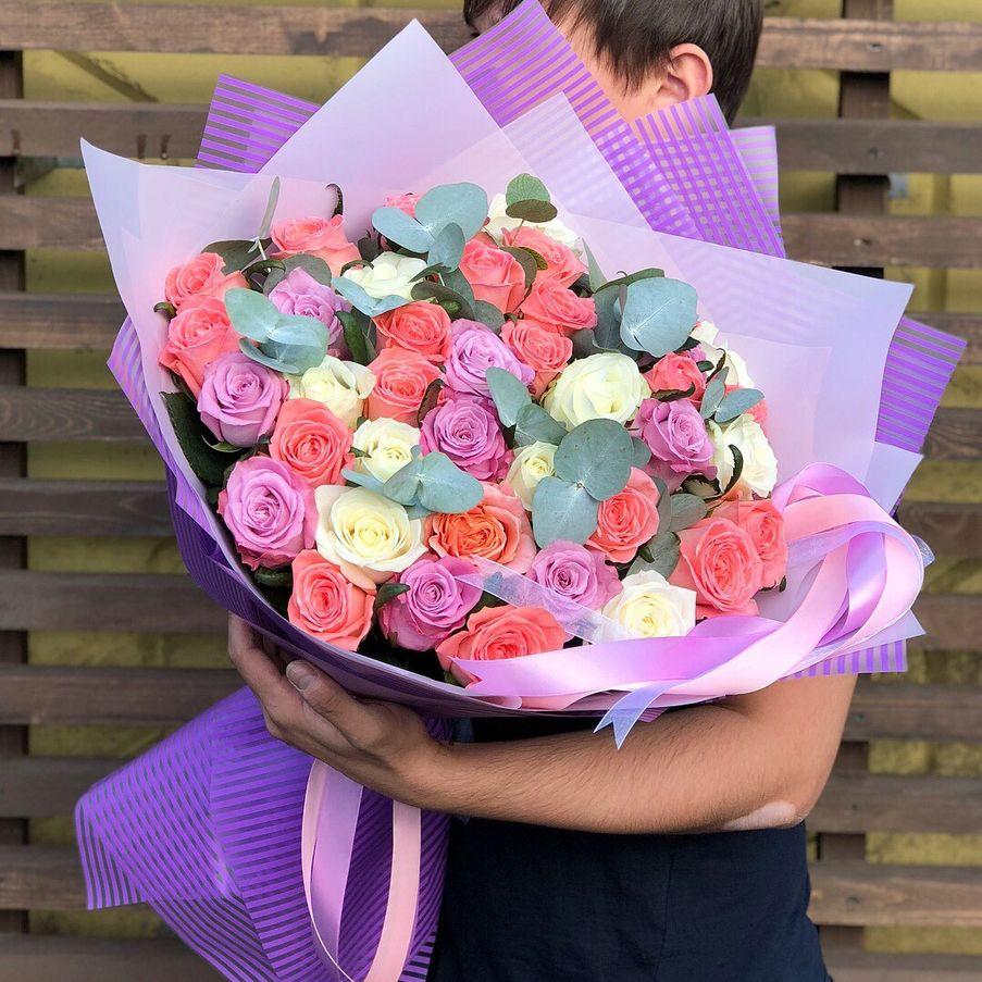 Купить высокие розы в Нижнем Новгороде | Premium букеты