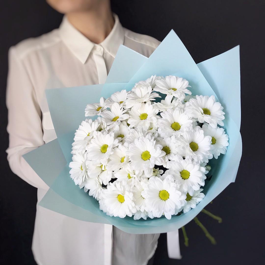 Цветы челябинск ромашки, магазин цветов букет